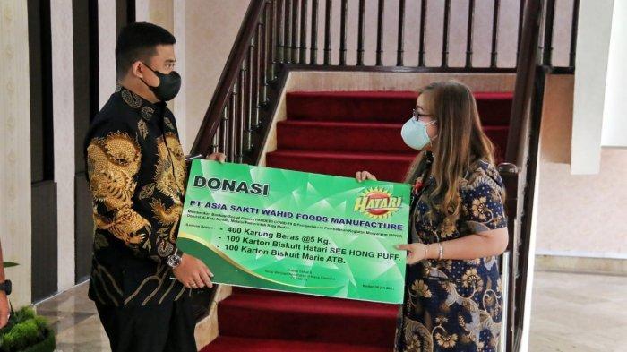 Bantuan untuk Warga Terdampak Covid-19 Berdatangan, Wali Kota Medan Ucap Terima Kasih