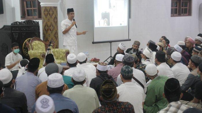 Sambut Bulan Ramadhan 1442 Hijriah, Wali Kota Siantar Ikuti Tarhib Bersama Ustaz Derry Sulaiman