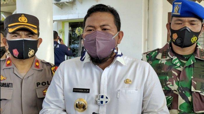 Wali Kota Tanjungbalai Jadi Orang Pertama yang Divaksin di Tanjungbalai