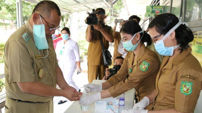 Pemko Medan Tetapkan Puskesmas Glugur Darat Tempat Screening Awal Orang Diduga Terkena Virus Corona