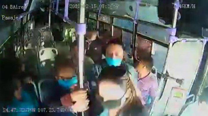 CCTV grabó a los pasajeros que huían, sin asistir a las víctimas ya heridas