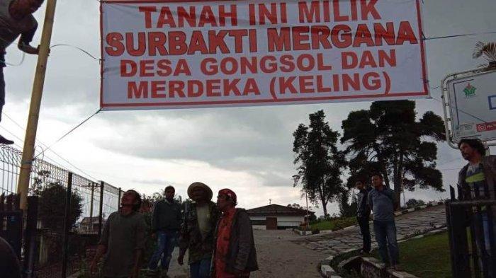 Perjuangkan Tanah Leluhur, Warga Dua Desa Duduki Aset PT Bakrie Sumatera Plantations