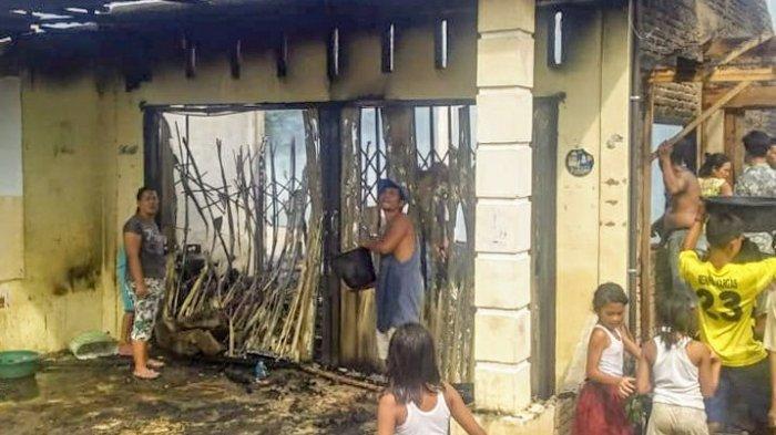 Ditinggal Kosong, Dua Rumah di Tanah Pinem Terbakar