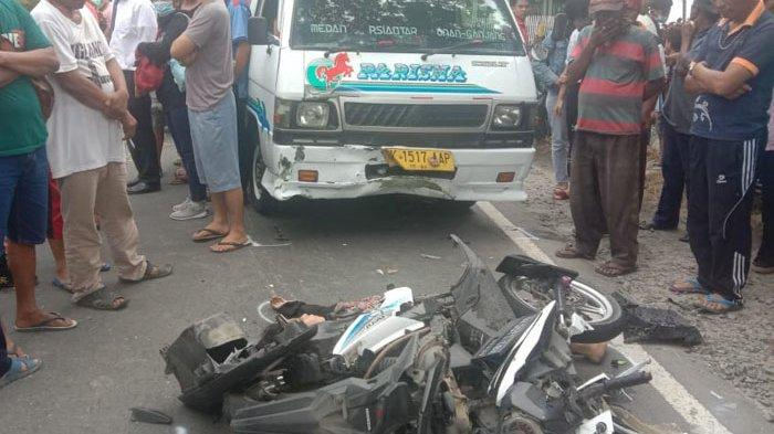 Jatuh dari Sepeda Motor, Nur Ainun Sihombing Tewas Usai Dihantam Angkot CV Parisma