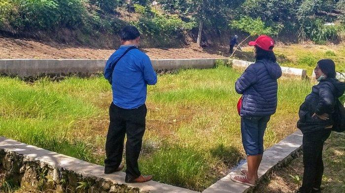 Dibangun Dinas Pertanian dan Peternakan, Embung pada Dua Desa di Dairi Ini tak Berfungsi dan Rusak