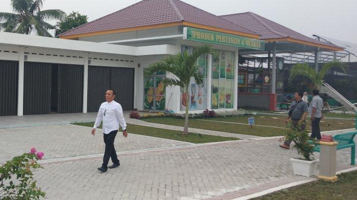Meski Sudah Dibangun Permanen, Pusat Promosi Produk Unggulan Daerah Deliserdang Sepi