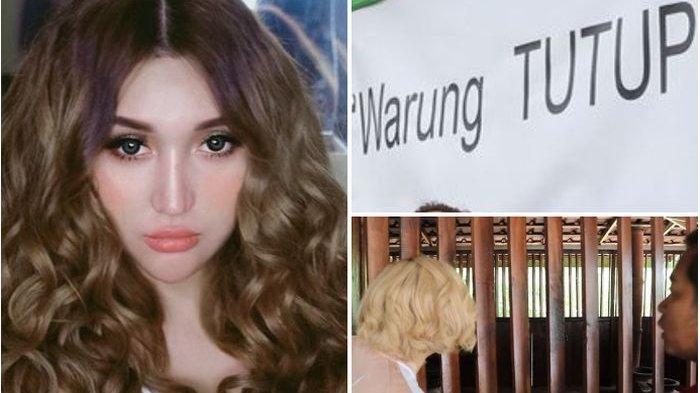 Pemiliknya Dipenjara, Warteg Milik Lucinta Luna Ditutup, Kondisi Warung Memprihatinkan Ditutup Koran