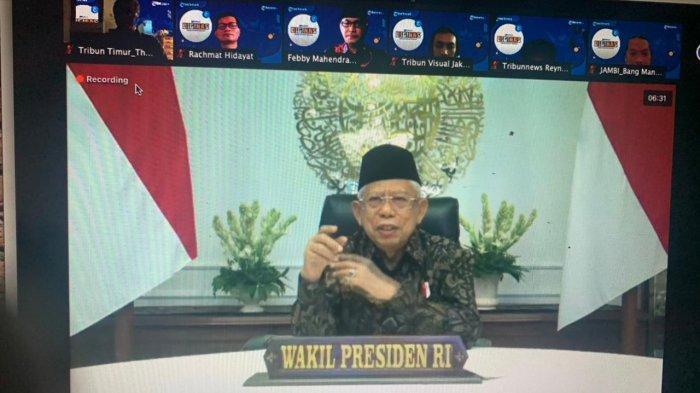 Fenomena Tidak Percaya Covid-19 Bukan hanya di Indonesia, Wapres:Ada Orang Ingin Mengacau