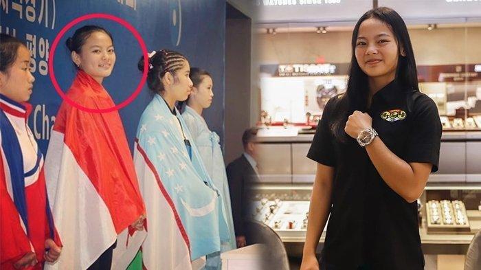 Pantas Anak Gadisnya Sabet Medali Angkat Besi, Foto Jadul Ibunda Windy Cantika Harumkan Indonesia