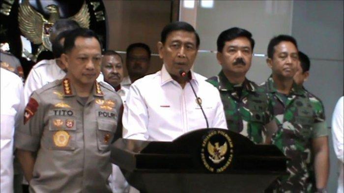 WIRANTO TERBARU - Menkopolhukam Wiranto Ungkap Tokoh Salahkan Aparat, Tahu Dalang Kerusuhan 22 Mei