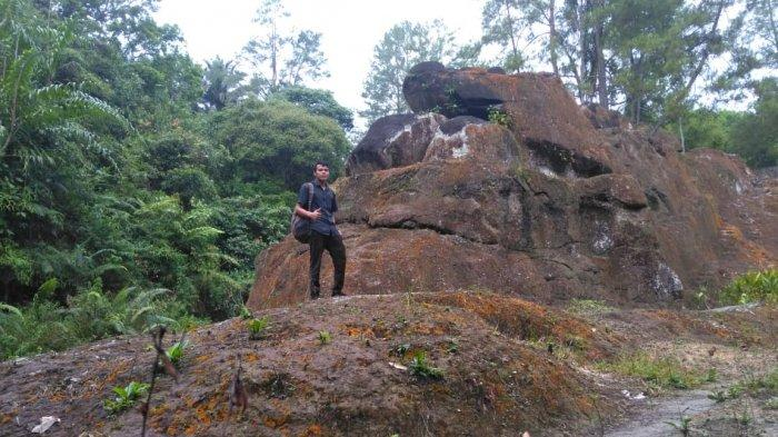Wisata Alam Megalitik Batu Gajah Kabupaten Simalungun, Ada Ukiran Figur Hewan