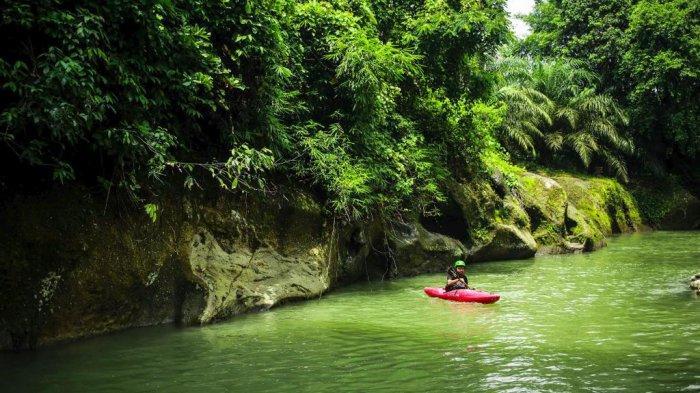 Pemandian Alam Namu Sira-sira, Wisata Dengan Budget Murah, Bisa Jadi Lokasi Latihan Olahraga Kayak