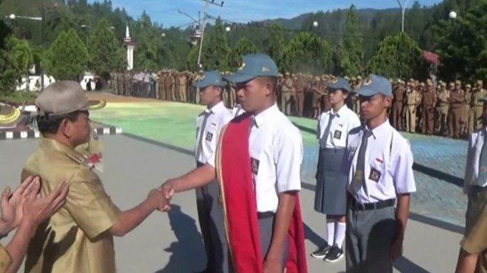 Kisah Anak Sopir Truk dari Mamasa Sulawesi Barat yang Jadi Paskibraka Nasional