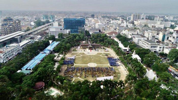 Begini Wujud Usulan Gampang Lapangan Merdeka, Kota Medan