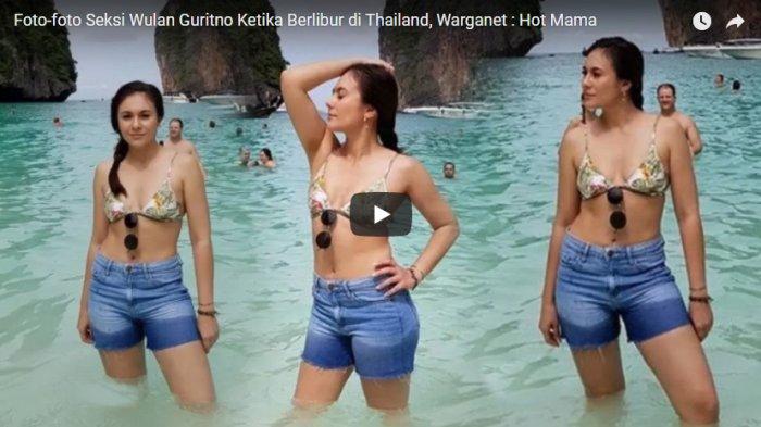 Wulan Guritno tampil seksi saat sedang berlibur di Thailand.