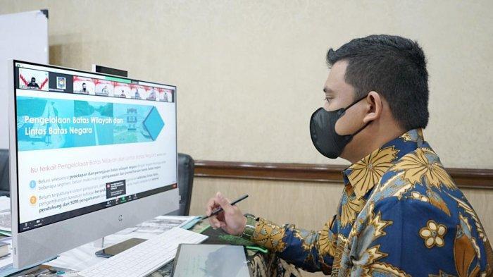 Bobby Nasution Ikuti Pembekalan Kepemimpinan Pemerintahan Dalam Negeri