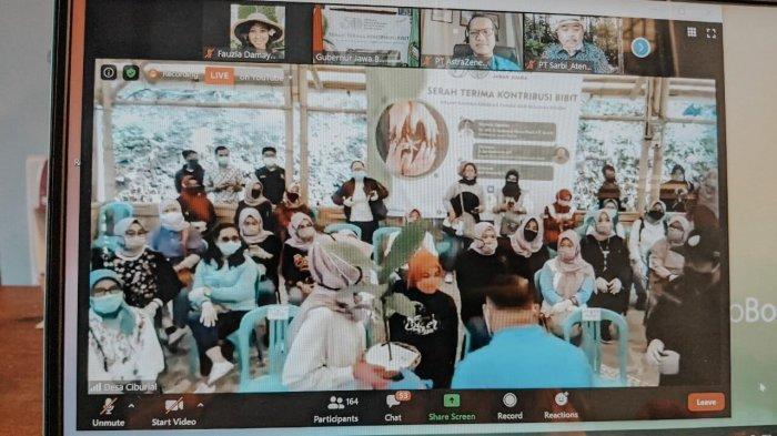 Dukung Gerakan Tanam 50 Juta Pohon, Yagasu Sumbang 2,5 Juta Pohon ke Gubernur Jabar