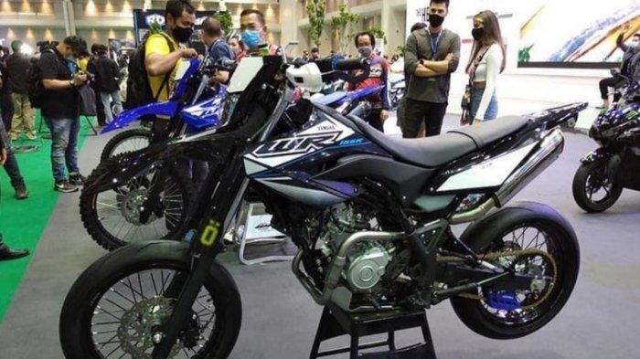 Penampakan Yamaha WR 155R Supermoto di BIMS 2020