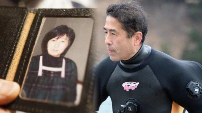 Kisah Suami Setia, 10 Tahun Mencari Istrinya yang Hilang Saat Tsunami, Menyelam dan Menelusuri Laut