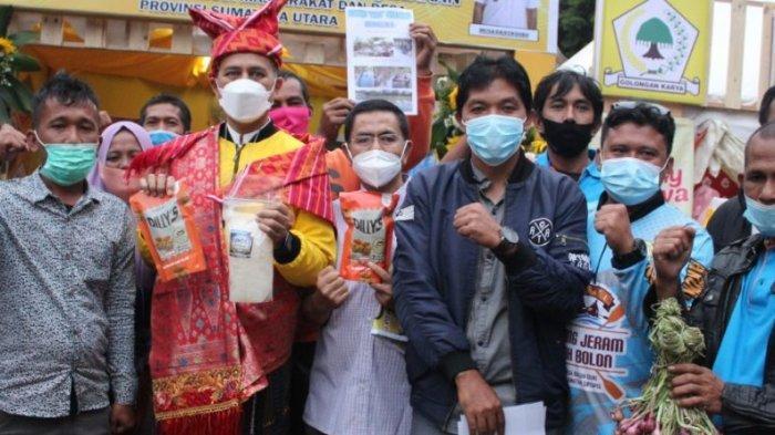 Kembangkan Potensi Desa, BUMDes Binaan Dinas PMD Provsu Gelar Pameran UMKM dan Bazar