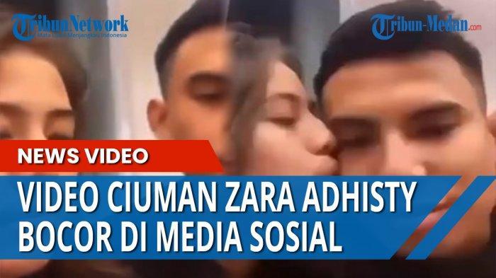 Video Detik-detik Zara Adhisty dan Niko Al Hakim Ciuman, Bocor di Media Sosial