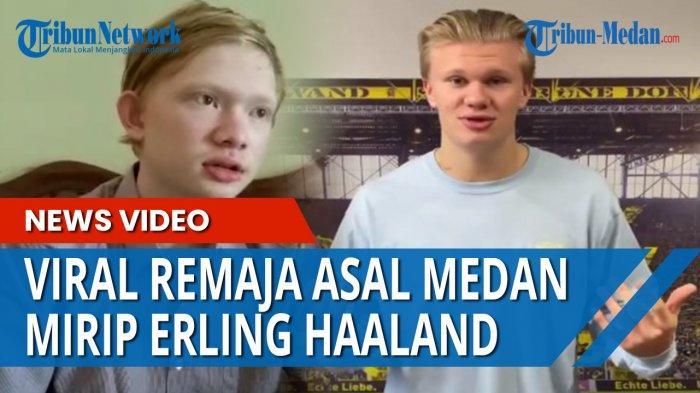 INILAH Sosok Remaja Mirip Erling Haaland, Anak Tembung, Bukan Albino, Ada Keturunan Belandanya