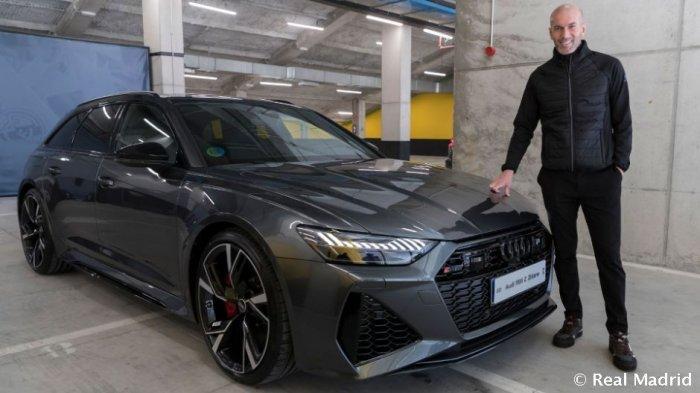 Real Madrid Bagi-bagi Mobil Baru Lagi, Zidane dan Ramos Dapat Audi RS6