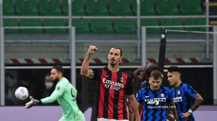 Derby Della Madonnina Ke-226 Milik Rossoneri, 2 Goal Ibrahimovic Tenggelamkan Lukaku Cs