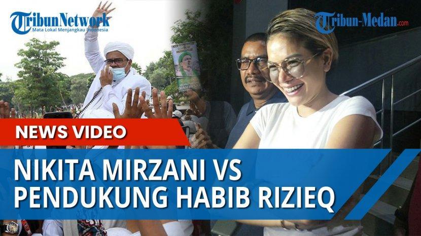 Video Terbaru Habib Rizieq Shihab Sindir Balik Nikita Mirzani Jamaah Tertawa Tribun Medan