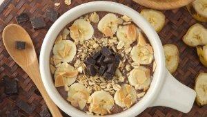 Resep Banana Chocolate Smoothies Bowl dan Cara Membuatnya, Kudapan Istimewa untuk Keluarga Tercinta