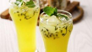 Resep Es Punch Markisa Daun Mint dan Cara Membuatnya , Minuman Segar Andalan saat Musim Panas Datang
