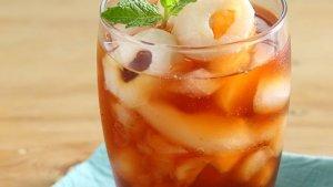 Resep Lychee Honey Ice Tea dan Cara Membuatnya, Minuman Dingin Untuk Penyegar Hari Kita
