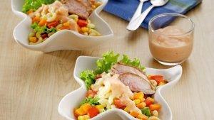 Resep Salad Ayam Makaroni dan Cara Membuatnya, Bisa Jadi Pilihan Kudapan Sehat di Malam Hari