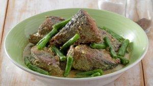Resep Tongkol Kacang Panjang Masak Kuning dan Cara Membuatnya,Menu Makan Malam yang Lezat dan Nikmat