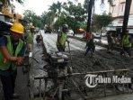 Berita Foto: Pemko Medan Prioritaskan Perbaikan Jalan di Kapten Muslim