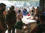 1.000 Babinsa Kodim 0201/BS Medan Divaksinasi