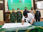 Wali Kota Bobby Dukung Pencanangan Pembangunan Zona Integritas di Lingkungan Kodim 0201/BS