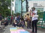 Berunjuk Rasa di Balai Kota, Jurnalis Kota Medan Minta Bobby Nasution Minta Maaf