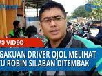 Pengakuan Driver Ojol Melihat Letusan Senpi Nembus Perut Aiptu Robin Silaban di Doorsmer KD & RS
