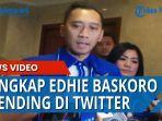 Tangkap Edhie Baskoro Trending di Twitter Setelah Demokrat Dikudeta Moeldoko, Ini Alasannya