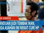 Kecanduan Judi Tembak Ikan Warga Asahan Ini Nekat Curi Hp Milik Penjual Masker Pinggir Jalan Tribun Medan