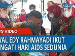 Peringati Hari AIDS Sedunia, Nawal Edy Rahmayadi Ikut Sosialisasi danApresiasi Penyandang HIV/AIDS