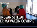 BREAKING NEWS, Detik-detik Nurmeli Pingsan setelah Disuntik Vaksin Covid-19 di Puskesmas Lubukpakam