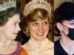 Lady Diana hingga Kate Middleton Pernah Pakai Kalung Mutiara Ratu Ini, Ternyata Punya Makna Mendalam