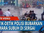 Detik-detik Polisi Bubarkan Asmara Subuh di Replika Istana Sultan Serdang Bedagai