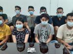 Pesta Narkoba di Karaoke Anda, Sembilan Pemuda Diciduk Polres Siantar