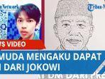 VIRAL Pemuda Mengaku Dapat DM dari Jokowi, Diminta Untuk Gambar Wajah Presiden, Dijanjikan Sepeda