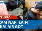 Video Viral Terpidana Mati Teddy Fahrizal Diduga Menyiram Napi Lain Pakai Air Got, Korban Hanya Diam