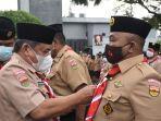 Yusuf Siregar Melantik Pengurus Majelis Pembimbing Ranting dan Kwartir Ranting Patumbak