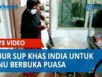 Yayasan India Muslim Medan Bagikan 500 Porsi Bubur Sup Khas India untuk Menu Berbuka Puasa